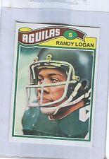 1977 Topps Mexican # 498  RANDY LOGAN  Eagles  Michigan stb