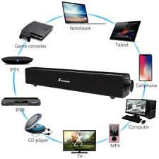 20W Powerful TV Sound Bar Speaker Wireless Bluetooth Box Home Theater Subwoofer