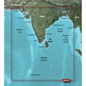 Garmin Bluecahrt G2 - HXAW003R - Indian Subcontinent - Micro SD/SD