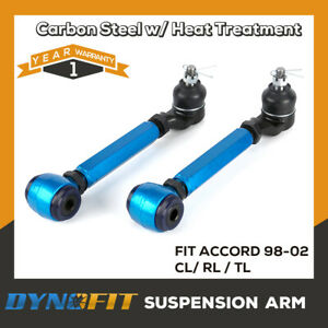 Rear Adjustable Camber Arm Kit Performance Suspension Alignment Fit 98-02 ACCORD