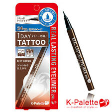 [K-PALETTE] 1 DAY TATTOO Real Lasting WP Waterproof Eyeliner 24hr DEEP BROWN NEW