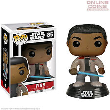 STAR WARS - FINN WITH LIGHTSABER - EPISODE 7 - POP VINYL FIGURE - FUNKO - BNIB!!
