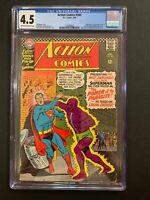 Action Comics 🔥 #340 (1966) CGC 4.5 1st Parasite 🗝! DC Comics!