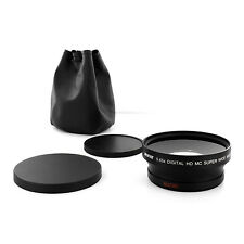 Professional HD 72mm Super Wide Angle Camera Lens 0.45x with Macro attachment