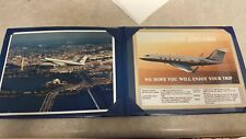 WELCOME ABOARD AIR FORCE ONE 1980-90's UNOPENED DECK OF PLAYING CARDS PLUS FOLIO