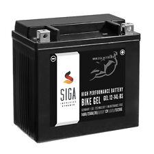 BIKE GEL Motorrad Batterie YTX14L-BS 14Ah 12V 250A Motorradbatterie GEL12-14L-BS