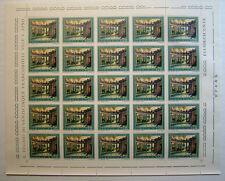 1975 ITALIA  150 lire Turismo  Montecatini Terme   foglio intero MNH**