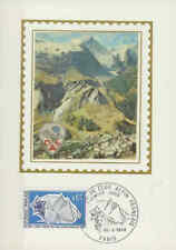Frankrijk FDC Carte 1974 (014) - Alpin Francais
