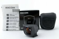 Ricoh GV-1 Viewfinder 28mm 21mm For GR Digital w/ Case and Box [Exc+++] #634804A