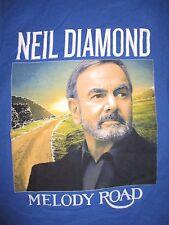 "2014 Neil Diamond ""Melody Road"" Concert Tour (Xs) T-Shirt"