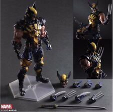 New Square Enix VARIANT Play Arts Kai Wolverine 10'' Action figure A75X