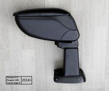 Armrest Centre Console Black Storage Adjustable Armcik Peugeot 108 2014-