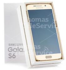 Samsung Galaxy S6 G920f Gold Smartphone Handy Android 16M Kamera Metall Neu OVP