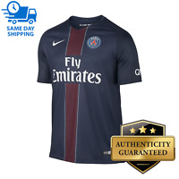 2016-17 Nike Men's Paris Saint Germain PSG Home Soccer Jersey Navy Size Medium M