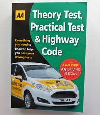 Driving Theory Test Practical Test & Highway Code learner driver book 2016 AA