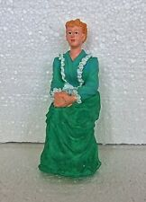 Dolls House 1 :12 scale Victorian Lady Sitting  Dolls House Figure  Miniatures