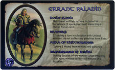 Defenders of the Realm: The Errant Paladin Card