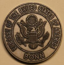 Veron A. Walters US Ambassador Bonn Germany Embassy 1989-1991 Challenge Coin