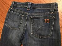 JOES BOOTCUT DISTRESSED Womens Blue Jeans 26x32 SR32 MADE IN USA