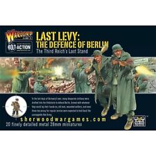 28mm Warlord German Last Levy, Defense of Berlin, for Bolt Action WW2