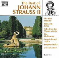 ohann II Strauss - The Best of J Strauss [CD]