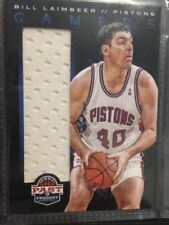 Not Autographed Detroit Pistons NBA Basketball Trading Cards