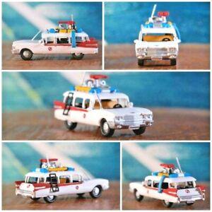 Miniature Ghostbuster Car Scale 1/87 H0 Scale