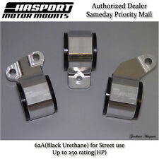 Hasport for 88-91 Civic/CRX D-Series OBD1/2 Stock Replacement Mount Kit 62A