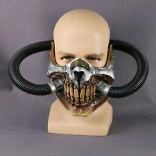 Mad Max Mask Cosplay Immortal Joe Half Face Gas Mask Halloween Costume Props New