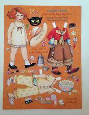 Mary Engelbreit Mag. Paper Doll, Audrey Ann, Oct./Nov. 2004, Uncut