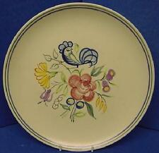"POOLE POTTERY LE PATTERN 10"" DINNER PLATE"