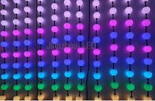 40PCS 50mm Milky Ball WS2811 Pixel Module RGB Dream Color 6LEDs 5050 Light 12V