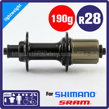 Circus Monkey HRW2 Road Rear Hub 130mm 28H 190g Shimano 11 Speed Black