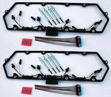 97-03 Powerstroke 7.3L Diesel Glow Plug Kit - Gaskets Harnesses 8 Plugs Pigtails