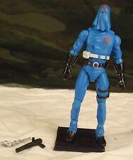GI JOE 25th anniversary hooded Cobra Commander v35 2008 MASS Device DVD pack