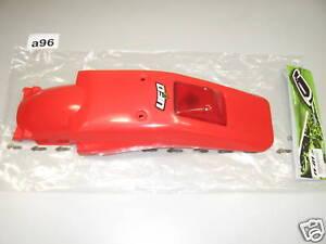 New Red Rear Fender w/ Tail Light Honda XR250R XR400R Guard UFO XR250 XR400 #a96