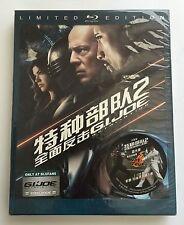 BLUFANS | G.I JOE | Blu Ray Steelbook Limited Full Slip #292/500 RARE OOS/OOP