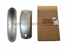 Royal Enfield Interceptor 650 Front and Rear Mudguard Silver