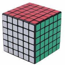 ShengShou 6x6x6 Speed Cube White Twisty Magic Puzzle (Black) USA SELLER