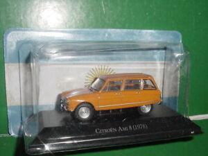 CITROEN AMI 8 orange 1978 1/43 IXO