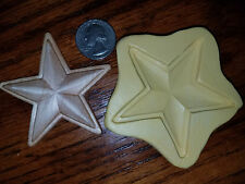 Star, Texas, USA Silicone Mold Gumpaste Fondant Cake Chocolate clay  #428