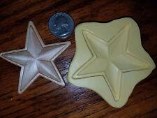 Star, Texas, USA Silicone Mold Gumpaste Fondant Cake Chocolate clay  #428