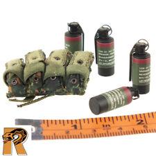 Lanard CORPS Military Modern Flashbang C Green Long Sleeves White Eyes RARE