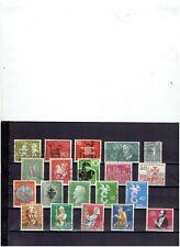 BUNDES REPUBLIEK op een zegel na complete jaar uitgave 1958 gebruikt