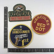 Vintage Winchester GUN RIFLE jacket hat vest HUNTING collectors  Patch