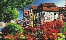 JIGSAW PUZZLE QUALITY 1000 PIECE ALSACE FRANCE SCENE COLOURFUL TRADITIONAL BOXED