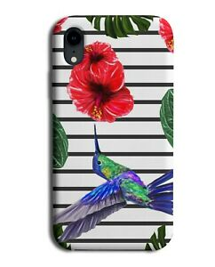 Hummingbird Phone Case Cover Bird Birds Spring Lillie Orchid Flying Art M789