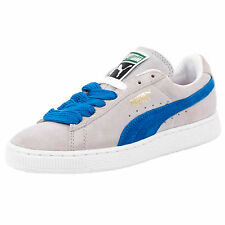 PUMA SUEDE CLASSIC ECO FASHION SNEAKERS GRAY VIOLET 352634 47 SZ 4.5 MENS 6 WMNS