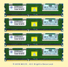 Server RAM 16G 4x 4GB PC3-10600R ECC Registered DDR3 1333 Memory FIT Dell HP IBM