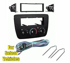 Car Stereo Radio Install Dash Kit Combo for 2000-2003 Ford Taurus/Mercury Sable